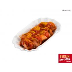 Original Berliner Currywurst (Serviervorschlag)