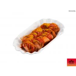 Berliner Currywurst im Glas (Serviervorschlag)