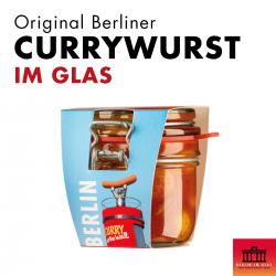 15x Berliner Currywurst im Glas