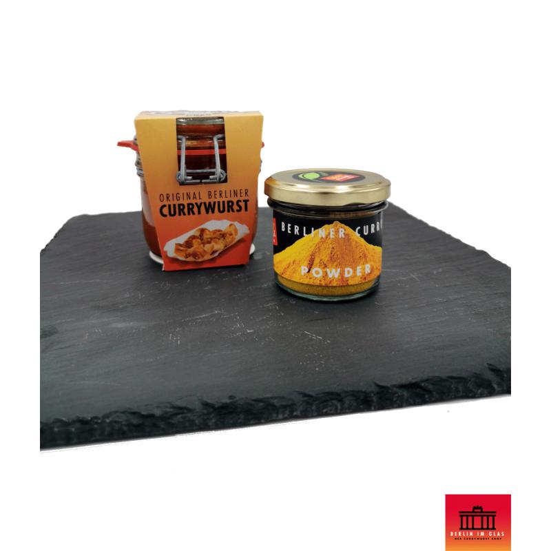 2x Currywurst im Glas + Currypulver - Berlin im Glas Set