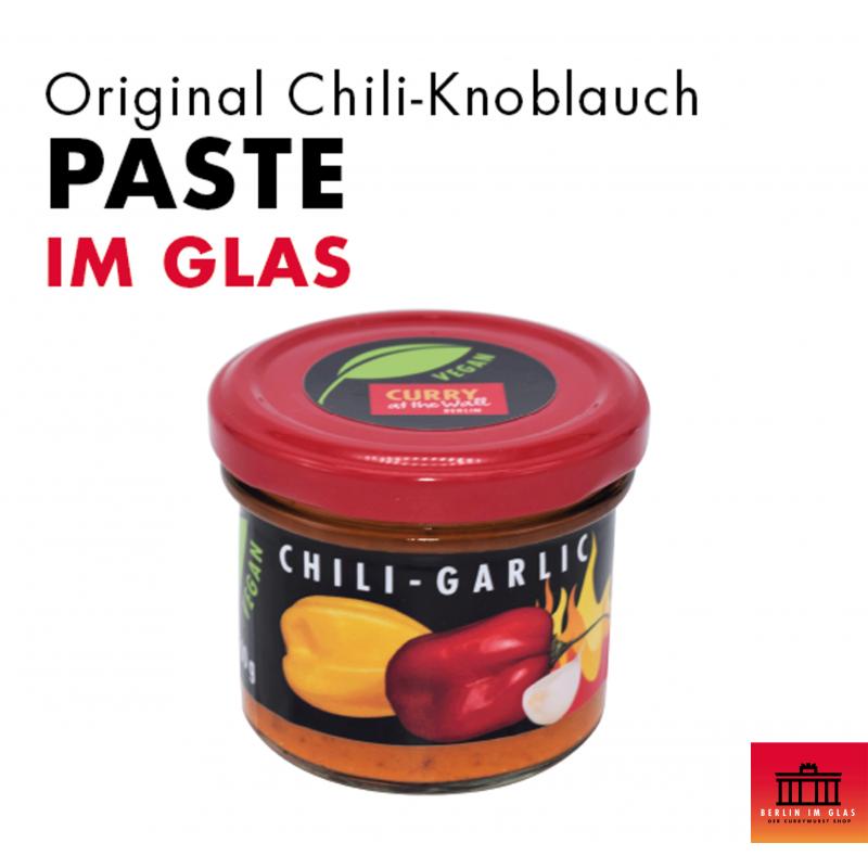 Chili-Knoblauch Paste im Glas