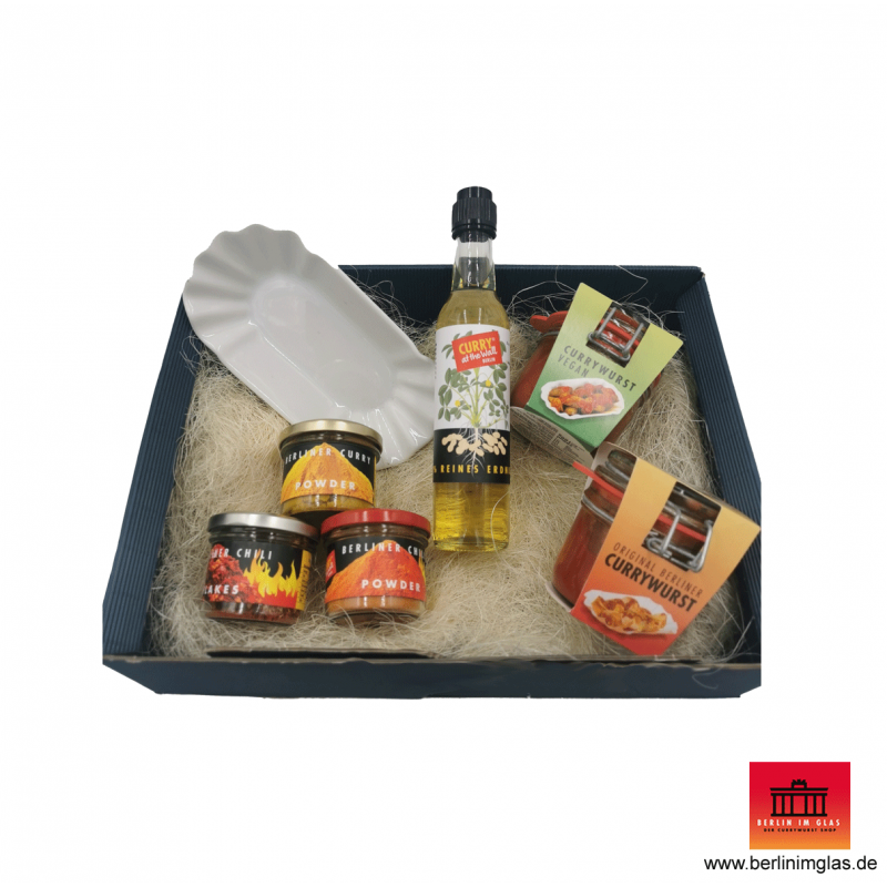 """""""Curry at the Wall"""" Geschenk Set"""